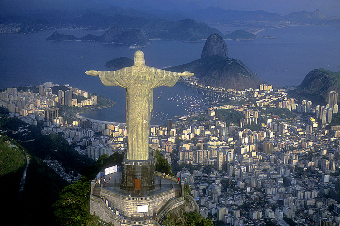 corcovado   brazil   christ the redeemer   sugarloaf   south america   bwd vacations