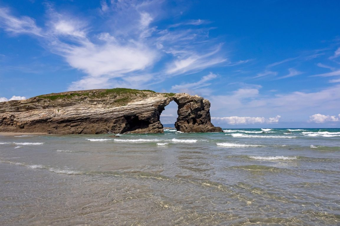 galicia   praia de cathedrales   ribadeo   spain   tours   travel   your journey begins   bwd vacations