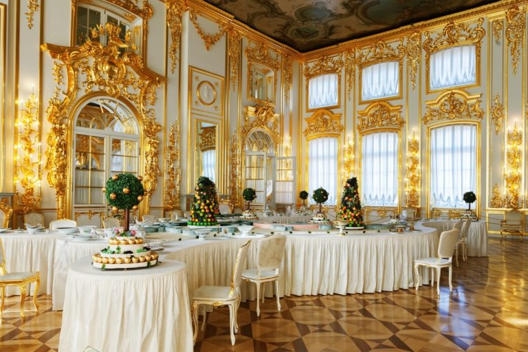 catherine palace   pushkin   tsarskoye selo   russia   the man in the front seat   bwd vacations