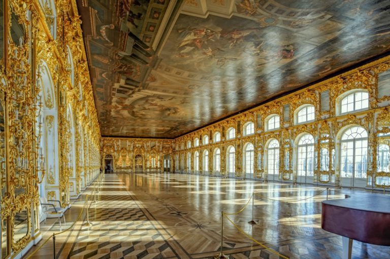 catherine palace   pushkin   tsarskoye selo   russia   grand hall   the man in the front seat   bwd vacations