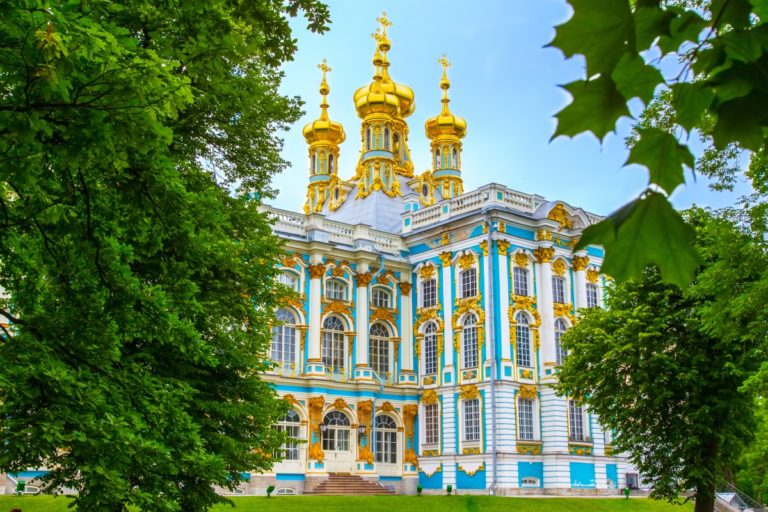 catherine palace   pushkin   tsarskoye selo   russia   rastrelli   the man in the front seat   bwd vacations