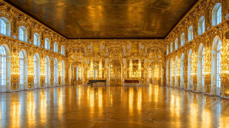 catherine palace   pushkin   tsarskoye selo   russia   interior   the man in the front seat   bwd vacations